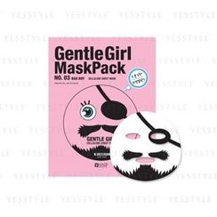 SNP - Gentle Girl Mask Pack Cellulose Sheet Mask (No.03 Bad Boy)