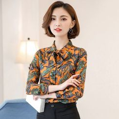 Sienne - Bow Neck Blouse