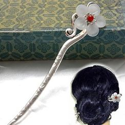 Paparazzi - Flower Accent  Hair Pin