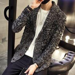 LIBIN - 麻花針織開衫
