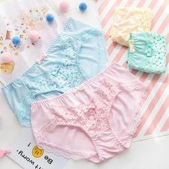 Saacheer - Lace Panel Panties