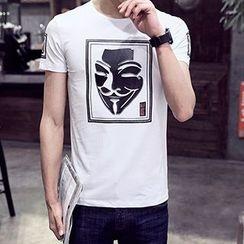 Evzen - Short Sleeve Print T-Shirt