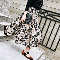 Jack Grace - Floral Long Skirt
