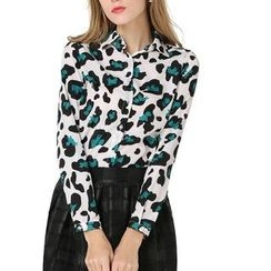LIVA GIRL - Leopard Shirt