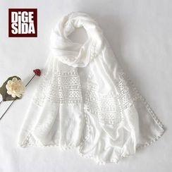Digesida - 圖案印花圍巾