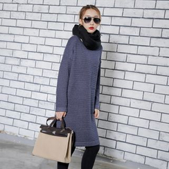 Sonne - Slit-Side Knit Dress