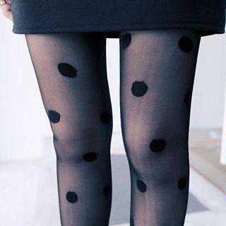 Clair Fashion - Polka Dot Tights