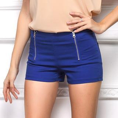 LIVA GIRL - Zip Shorts