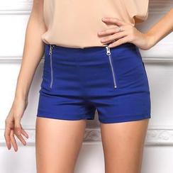 LIVA GIRL - 拉链短裤