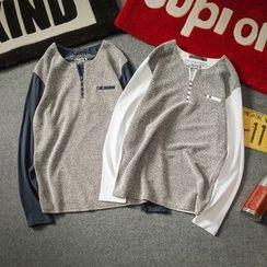 Alvicio - Panel Long-Sleeve T-shirt