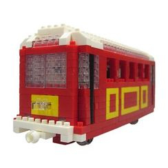 M.H. Blocks - 'Hong Kong Peak Tram Toy Building Blocks