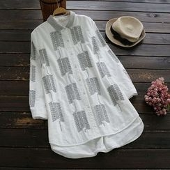YOYO - Embroidered Blouse