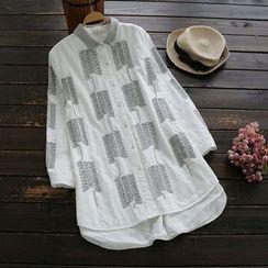 YOYO - 刺绣衬衫