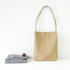 Cutie Bazaar - Plain Canvas Shopper Bag