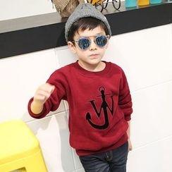 Lemony dudu - Kids Applique Sweatshirt