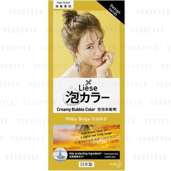 Kao - Liese Creamy Bubble Hair Color (Milky Beige)