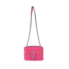 DABAGIRL - Chain-Strap Buckled Shoulder Bag