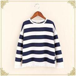 Fairyland - Striped Sweatshirt