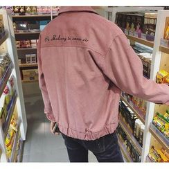 Bestrooy - Embroidered Button Jacket