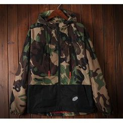 Bigboy - Camo Hooded Jacket
