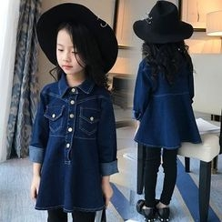 Pegasus - Kids Denim Shirtdress