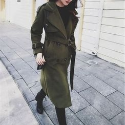 Mi Camilla - Double-Breasted Trench Coat