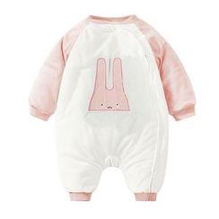MOM Kiss - Baby Rabbit Long-Sleeve One-Piece