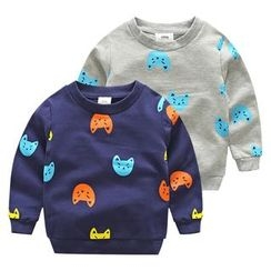 Seashells Kids - Kids Printed Sweatshirt