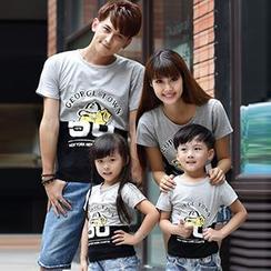 Igsoo - 親子印花 T 恤