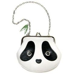 Morn Creations - Panda Coin Purse with Chain