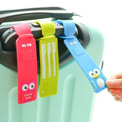 Class 302 - Animal Silicone Luggage Tag
