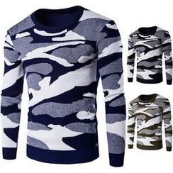 Constein - Camo Sweater