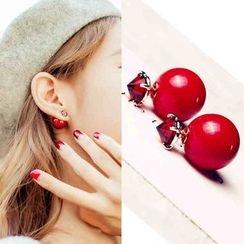 Best Jewellery - Double-Sided Earrings