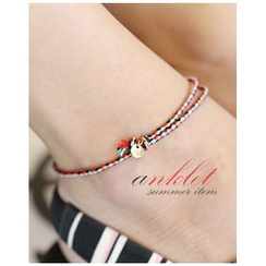 Miss21 Korea - Braided Anklet