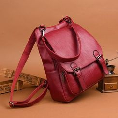 Mayanne - Genuine Leather Backpack
