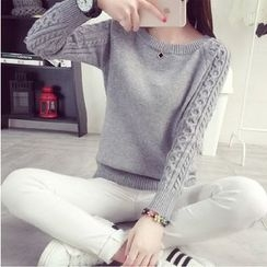 TIMI - Cable Knit Sweater