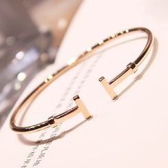 EPOQ - Rhinestone Open Bangle