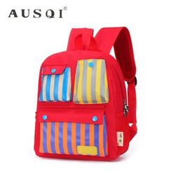 Ausqi - Kids Striped Backpack