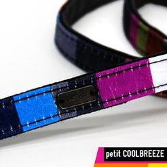 Vlashor - 幼-紫蓝条子相机带