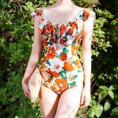 Dolfin - Floral Print Swimsuit