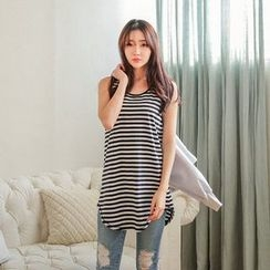 Seoul Fashion - Stripe Tank Top