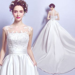 Angel Bridal - Lace Wedding Dress