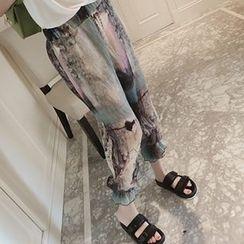 Ashlee - Print Harem Pants