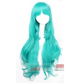 Coshome - Sailor Moon Sailor Neptune Long Cosplay Wig - Wavy