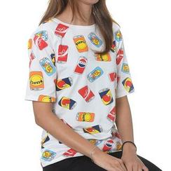 Adima - 短袖印花 T 恤