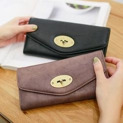 Rinka Doll - Twist Lock Long Wallet