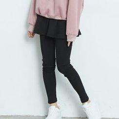 BAIMOMO - Inset Skirt Leggings