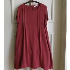 Rosadame - Short-Sleeve Dress