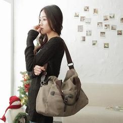MODE C. Multi-Pocket Canvas Tote