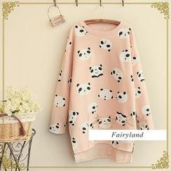 Fairyland - Panda Print Pullover